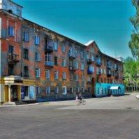 Старый дом на Пушкина, где осталось детство... :: Сергей Чиняев