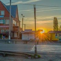 Утро, где-то на М4. :: Константин Бобинский