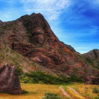 Цветные скалы :: Julia Martinkova