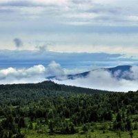Облака уходят из зелёной бухты :: Сергей Чиняев