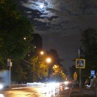 Ночь на московских улочках. :: Evgen Polyakov
