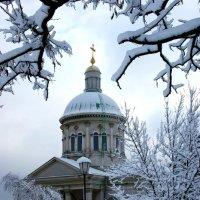 Город в снежном убранстве... :: Олег Попов