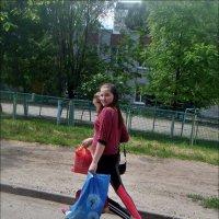 Подружки торопились по делам :: Нина Корешкова