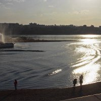На набережной Ангары... :: Александр Попов