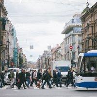 Город в движении :: Irina Kurzantseva