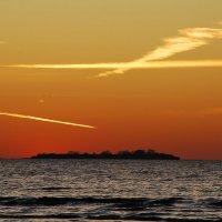 Разрезанное небо :: Николай Танаев