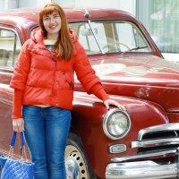 Красивой девушке красивую машину))) :: Маргарита Кириллова