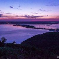 Волжская ГЭС. Зарождение дня над Тольятти. :: Сергей