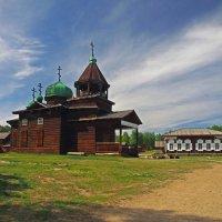 Мимо храма и трактира пролегла дорога... :: Александр Попов
