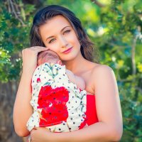 Мария и ее малышка :: Ирина Внукова