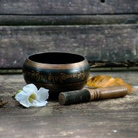 тибетская медная чаша :: Александр