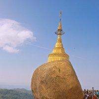 Бирма.Золотой камень. :: Лариса Борисова