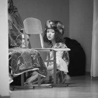 Девушка с жемчужной сережкой... Очень напоминает этот портрет... :: Vitaly Tunnikov