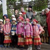 Паломники из Коми. :: Андрей Синицын