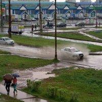 Спешашие в дождь. :: Валентина Налетова