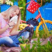 Любовь и голуби... :: Алла Кочкомазова
