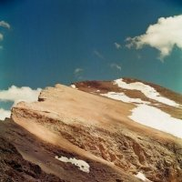 САМЫЙ КРАЙ, вершина напротив Аделунги, h-4100м. :: Виктор Осипчук