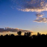 Облака на закате. :: юрий Амосов