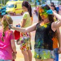 Праздник красок Холи г. Волгоград :: Наталья Кузнецова