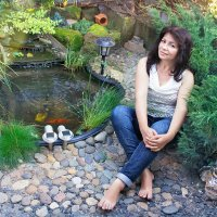 домашний ландшафт ) :: Райская птица Бородина