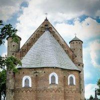 Сынковичи. Церковь-крепость Св. Михаила Архангела, XVI в. :: Nonna