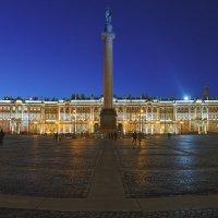Зимний Дворец вечером :: Александр Кислицын