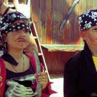 Путешествие на пиратском корабле :: Елена Круглова