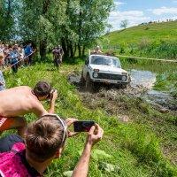 На трассе Трофи-рейда в классе модифицированных автомобилей :: Владимир Клещёв