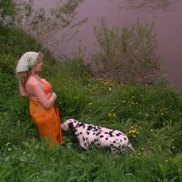 У реки. :: Мила Бовкун