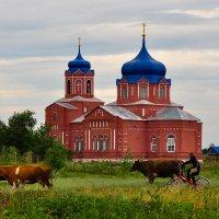 храм в с. Маянга :: Оксана Полякова