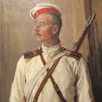Гатчинский дворец. Портрет солдата. Автора не знаю. :: Наталья