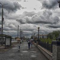 В городе дождь :: Валерий Кабаков