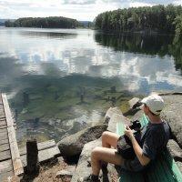 озеро Тургояк :: Валерий Конев