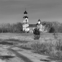 Дорога к храму... :: Галина Ильясова