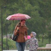 Прогулки под дождём :: Юрий Кольцов