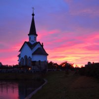 На закате :: Наталья Левина