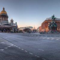 Исаакиевская Площадь, СПб :: Александр Кислицын