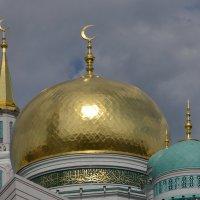 Купола московской соборной мечети. :: Oleg4618 Шутченко