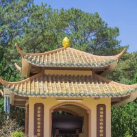 В окрестностях Далата. Буддийский монастырь Чук Лам. :: Виктор Куприянов