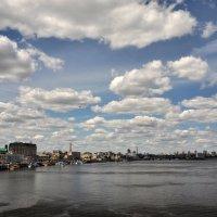Облака над Днепром :: Марина Грицай