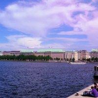 Hamburg. Alster :: Nina Yudicheva