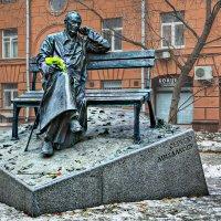 Москва. Памятник С. Михалкову. :: В и т а л и й .... Л а б з о'в