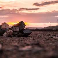 Камни при закате :: Артем