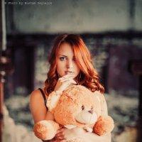 портрет с мишкой :: Rustam Zeynalov