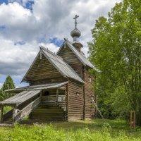 Преображенская (Вознесенская) церковь с погоста Спас на Сози Калининского района, 1732 года. :: Михаил (Skipper A.M.)