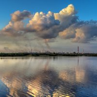 Вечернее облако :: Valeriy Piterskiy