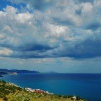 Облака над лагуной :: M Marikfoto