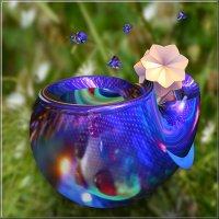 кружка с цветочком :: linnud