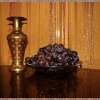Натюрморт с виноградом :: Лидия (naum.lidiya)