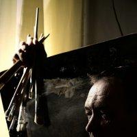 рыцарь искусства :: Дмитрий Потапов